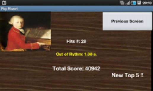 Play Mozart - screenshot thumbnail