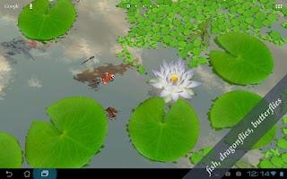 Screenshot of 3D Lotus Live Wallpaper