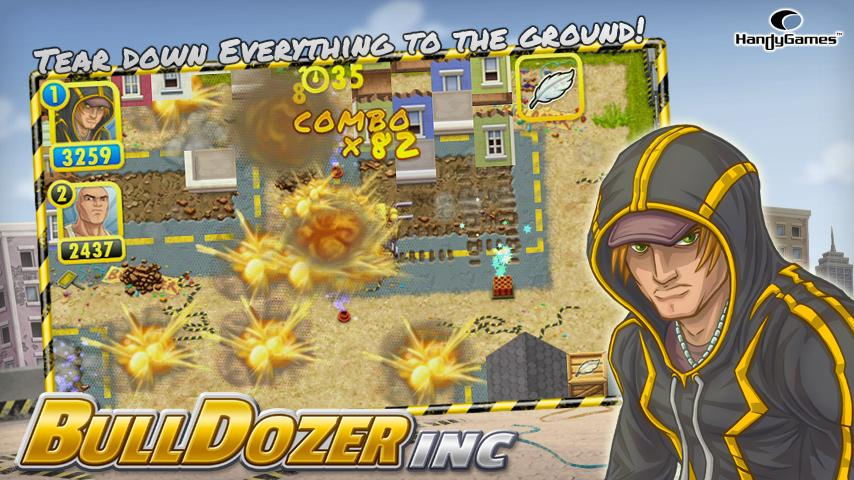 Bulldozer Inc. - screenshot