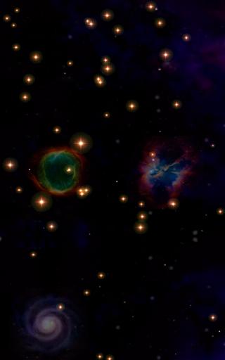 Cosmic Voyage Live wallpaper