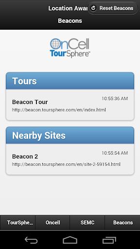 Location Aware Beacons
