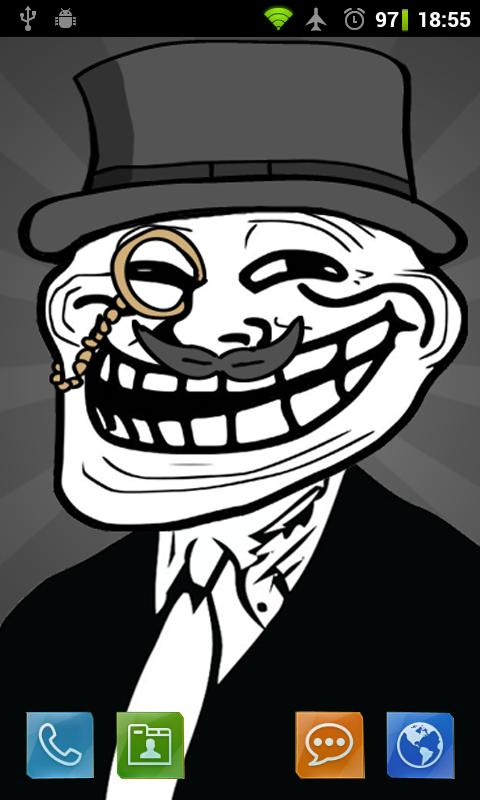 Download The Troll Face Full Live Wallpaper Android Apps On