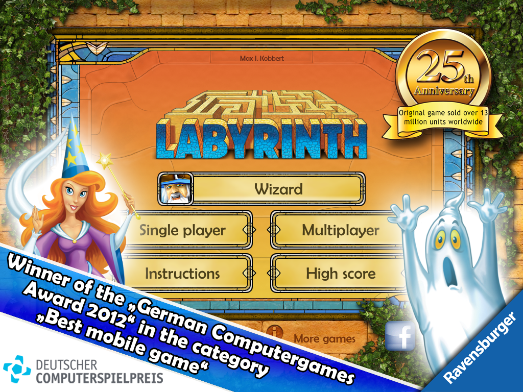 THE aMAZEing Labyrinth - screenshot