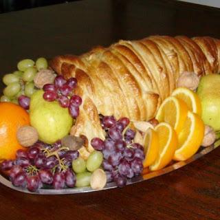 Holiday Cornucopia Bread Centerpiece