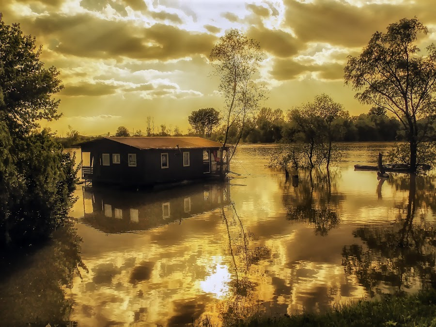 Golden Sunset by Zeljko Jelavic - Novices Only Landscapes ( , golden hour, sunset, sunrise, relax, tranquil, relaxing, tranquility )