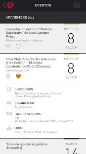 Más Toledo (App. Oficial): miniatura de captura de pantalla