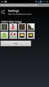 3D Home Former (HTC Evo 3D) screenshot 0