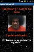Screenshot of Sandeha Nivarini - Sai Baba