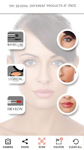 TryItOn Makeup Try It On- screenshot thumbnail