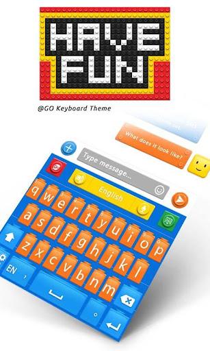 Have Fun GO Keyboard Theme