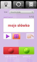 Screenshot of mobilang.pl - fiszki, nauka