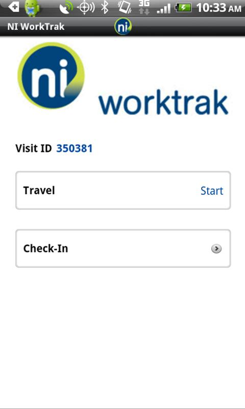 NI WorkTrak - screenshot