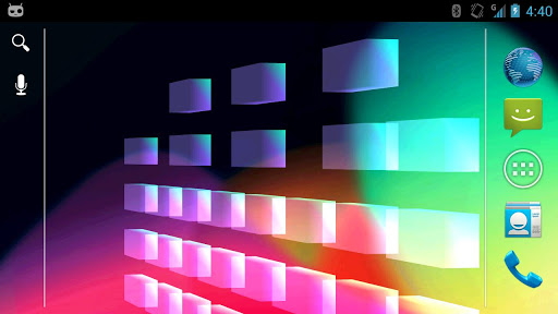 3D Equalizer Live Wallpaper