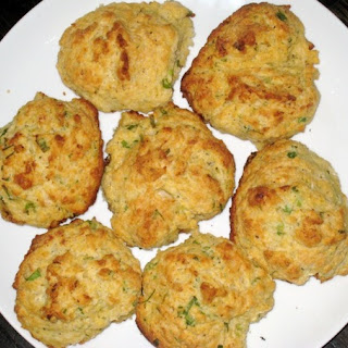 Scallion and Goat Cheese Drop Biscuits.