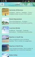 Screenshot of Travel Portal of India