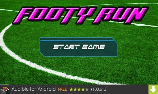 Footy Run Free Version