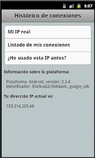 Mi IP - screenshot thumbnail