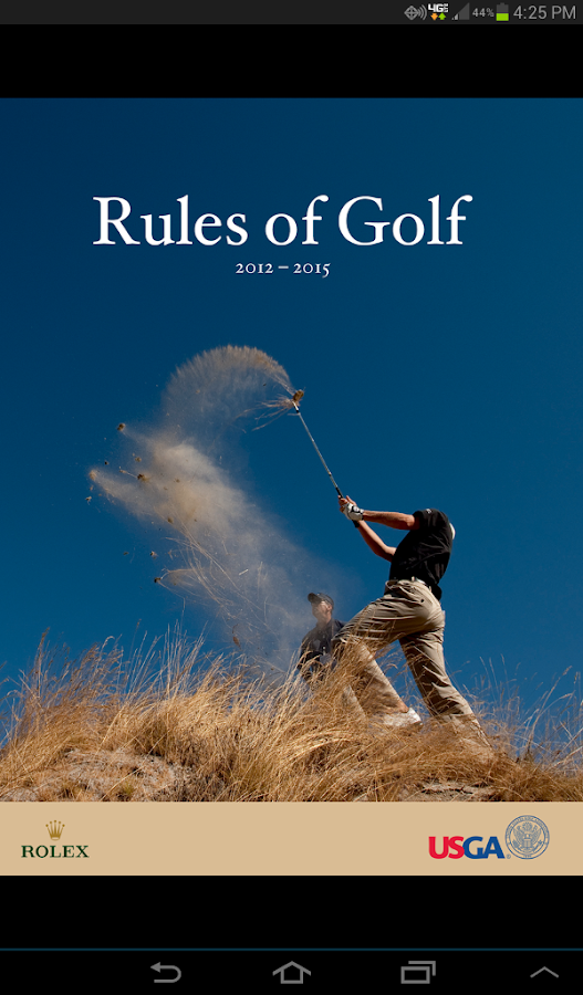 The Rules of Golf- screenshot
