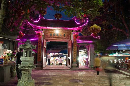 Tan-Chau-Vietnam - Evening in Tân Châu, a town in the Mekong Delta of Vietnam.