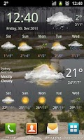 Screenshot of Weather Services