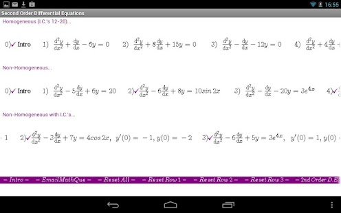 Differential Equations II- screenshot thumbnail
