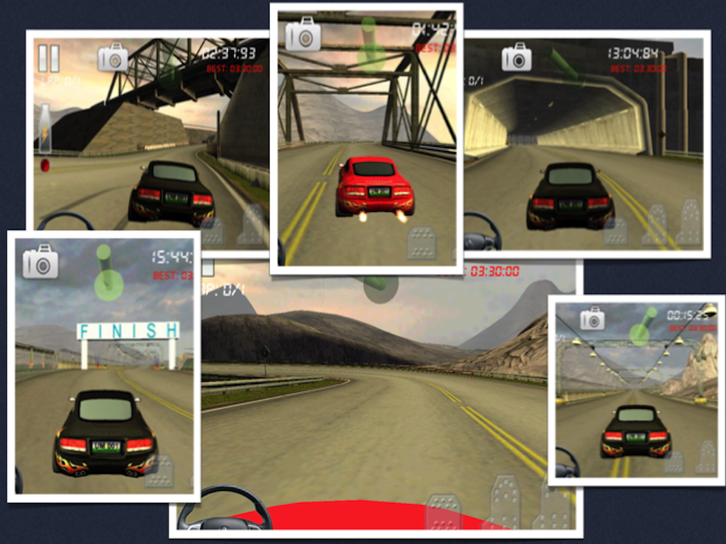 Race Gear-Feel 3d Car Racing - screenshot