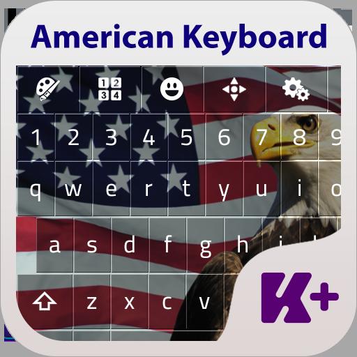 American Keyboard Theme LOGO-APP點子