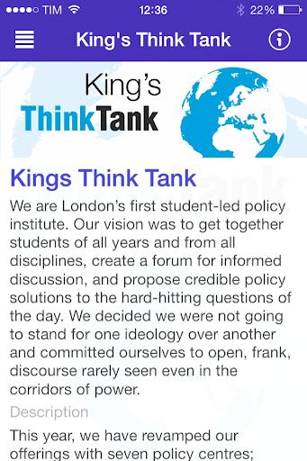 Kings Think Tank