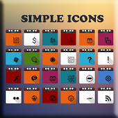 SIMPLE ICONS APEX/NOVA/GO/ADW