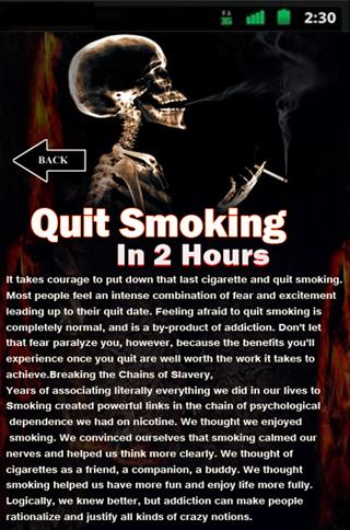 Quit Smoking In 2 Hours