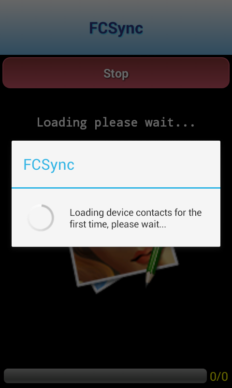 FCSync Trial- Sync Contacts - screenshot