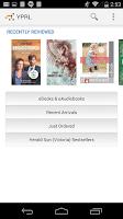 Screenshot of YPRL Pocket Library