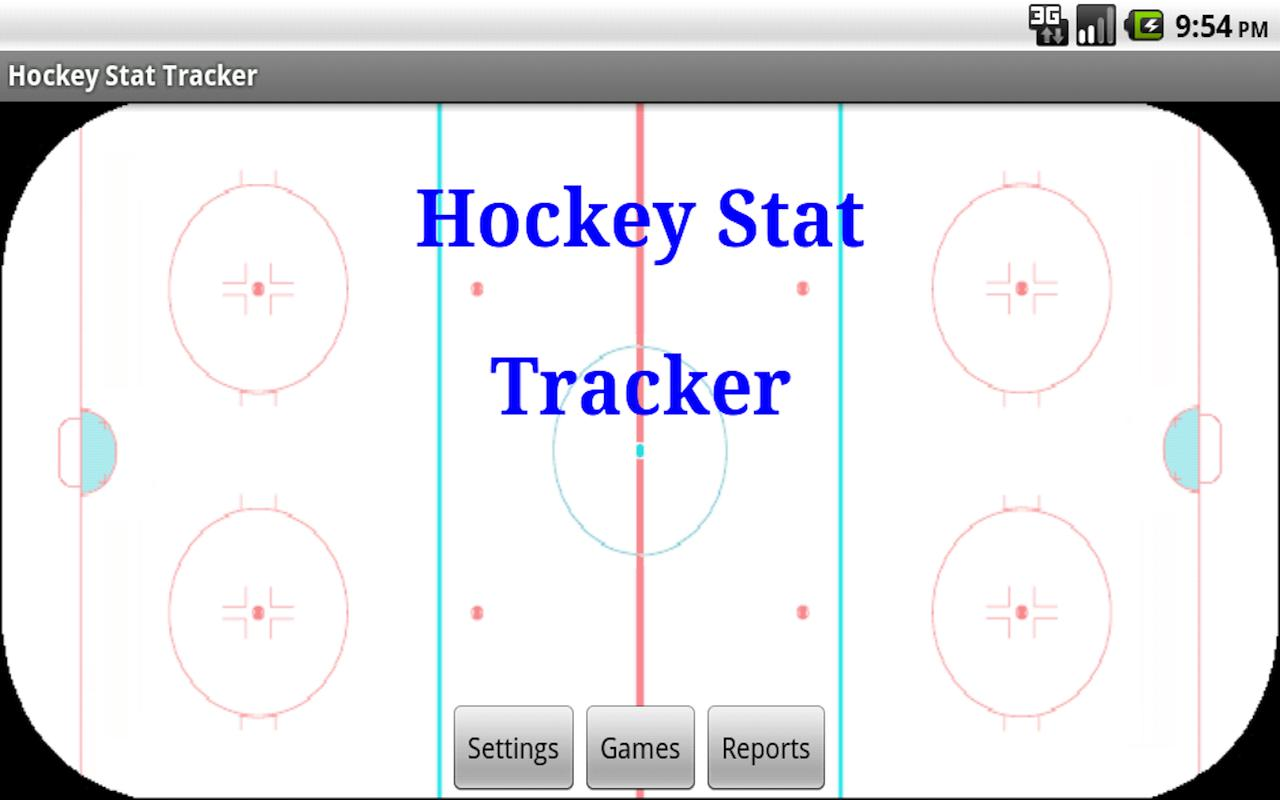 Hockey Stat Tracker- screenshot