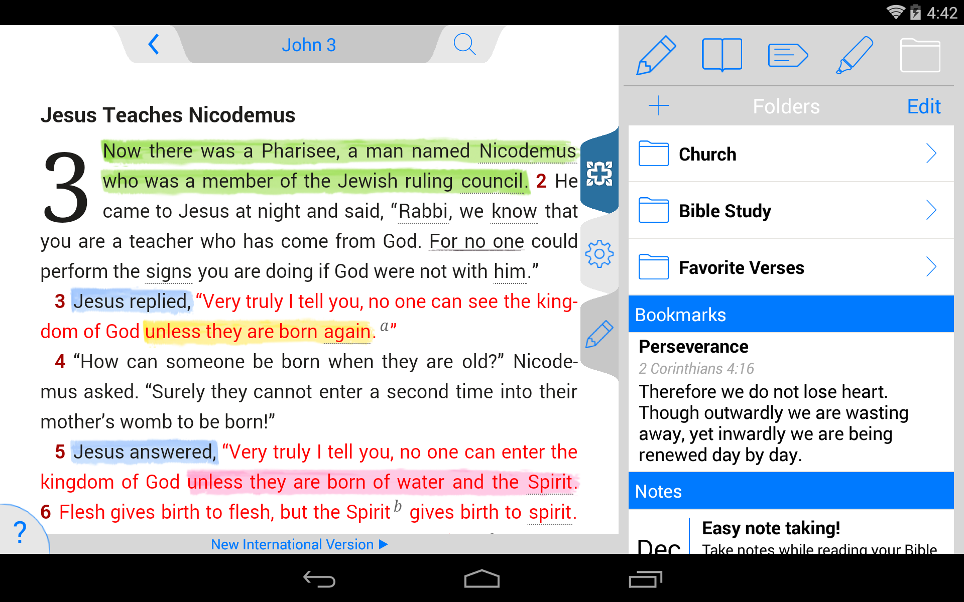 NIV Study Bible screenshot #21