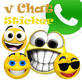 v Chat Sticker WhatsApp
