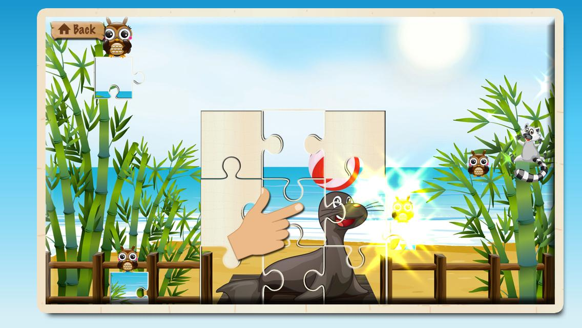 Animal Puzzle Kids & Toddlers- screenshot