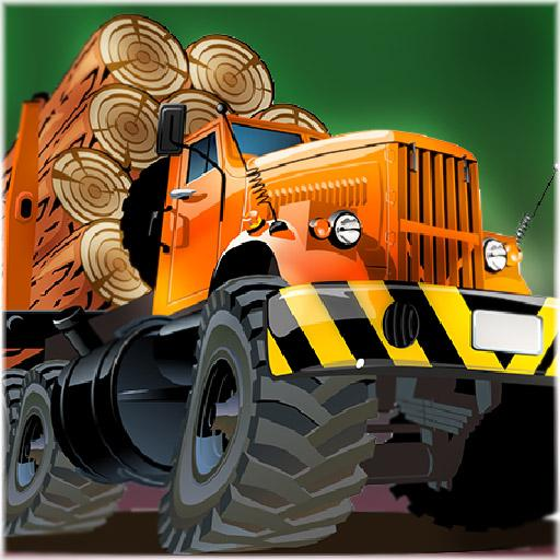 wood lumberjack truck tractor