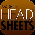 Headsheets App icon