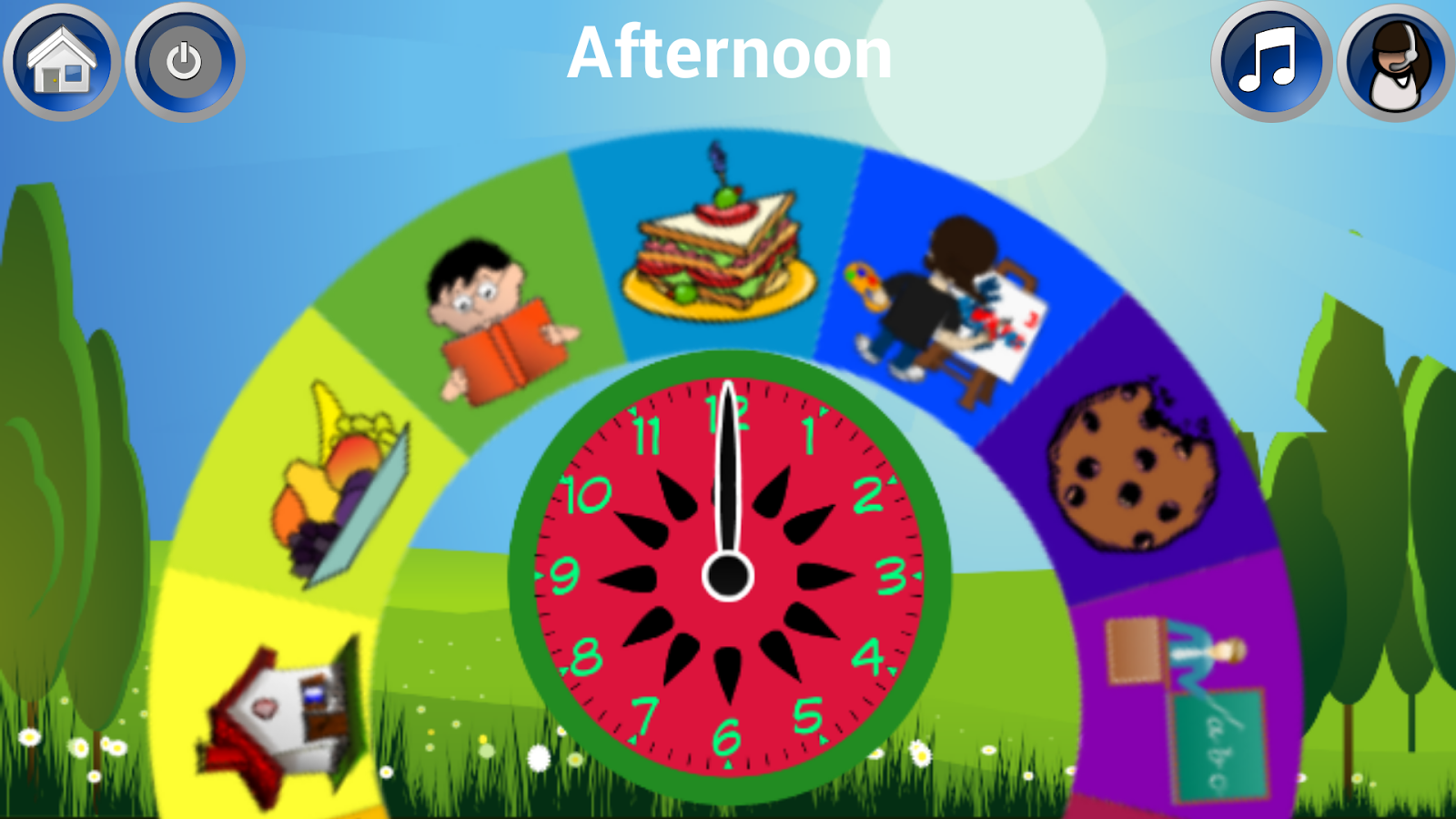 Worksheet Learning Clock learn clock tell time android apps on google play screenshot