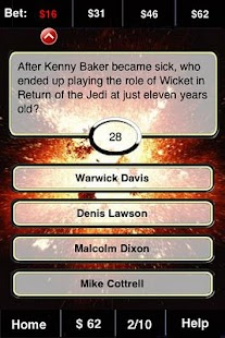 Star Wars FunBlast Trivia LT - screenshot thumbnail