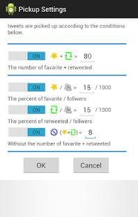 Timeline Pickup (Twitter) - náhled