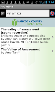 Hancock County Public Library - screenshot thumbnail