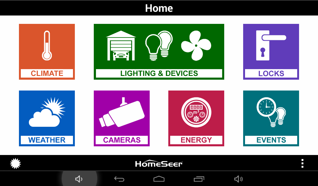 HSTouch Home Automation- screenshot