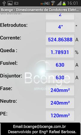 Cálculo - Condutores Elétricos 1.1 screenshot 1298945