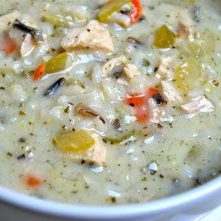 Creamy Chicken and Wild Rice Soup Recipe