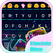 Electric Dice Emoji Keyboard