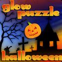 GlowPuzzle Halloween logo