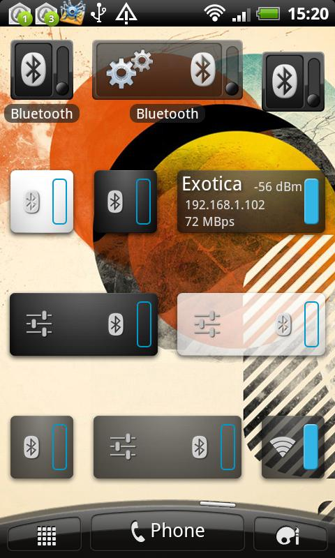 Bluetooth Widget- screenshot