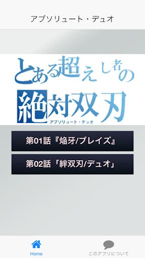 絶対双刃 検定『アブソリュート・デュオ編』