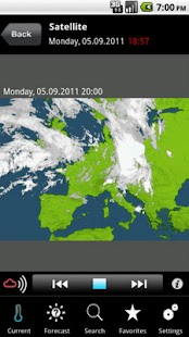MeteoNews+- screenshot thumbnail